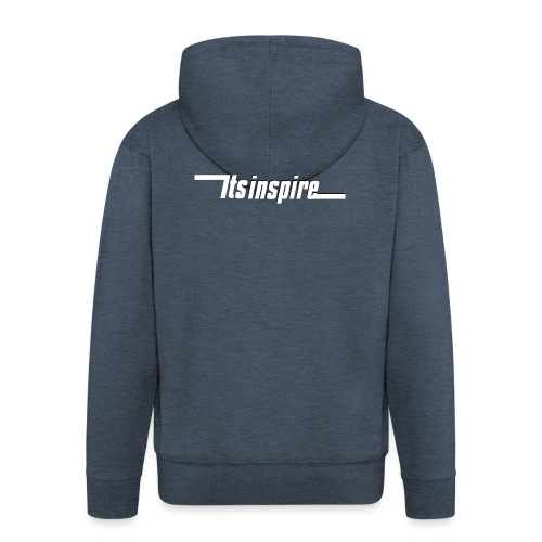 Itsinspire Logo - Men's Premium Hooded Jacket