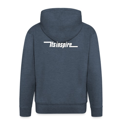 Itsinspire Logo - Men's Premium Hooded Jacket