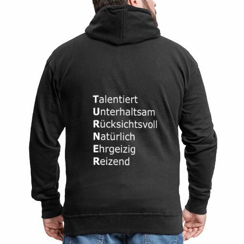 Turner - Männer Premium Kapuzenjacke