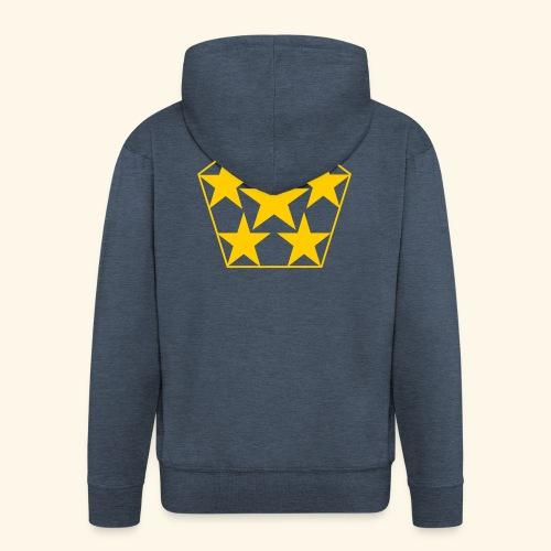 5 STAR gelb - Männer Premium Kapuzenjacke