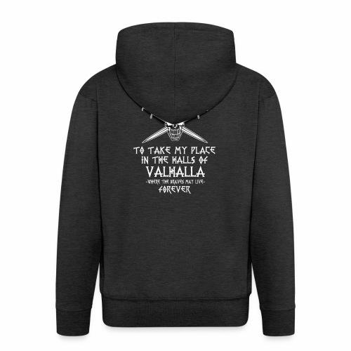 training for Valhalla - Chaqueta con capucha premium hombre