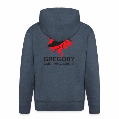 OMG, Gregor Samsa is dead! - Men's Premium Hooded Jacket