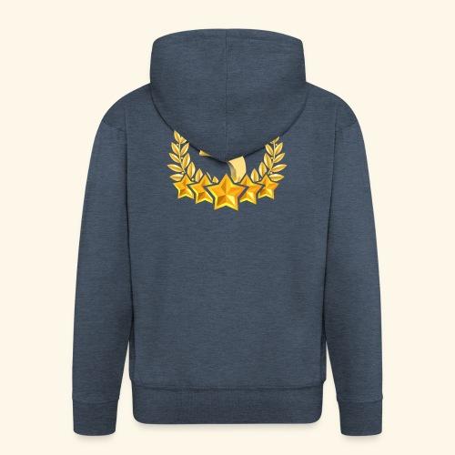 Fünf-Stern 5 sterne - Männer Premium Kapuzenjacke
