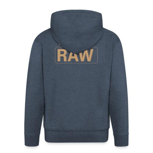 I im Love RAW - Männer Premium Kapuzenjacke