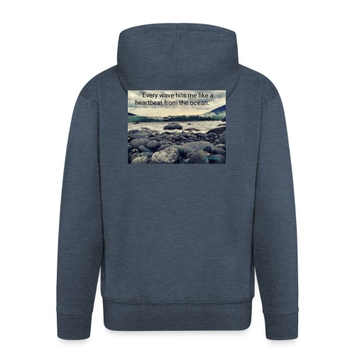 Oceanheart - Premium Hettejakke for menn