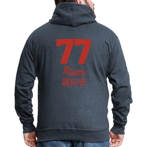 77 miami - Männer Premium Kapuzenjacke