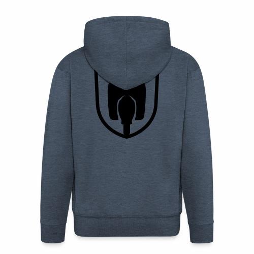 Moped Schwalbe Wappen - Men's Premium Hooded Jacket