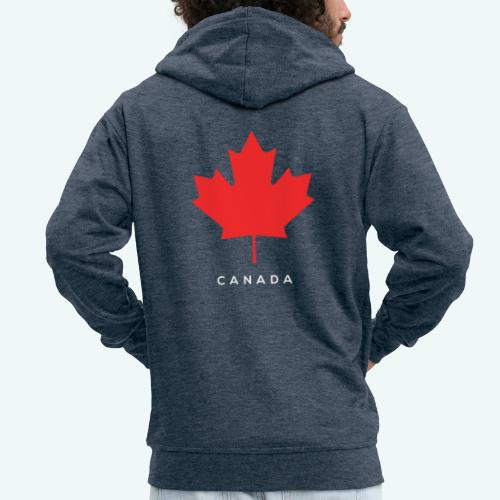 Canada-Lover - Männer Premium Kapuzenjacke
