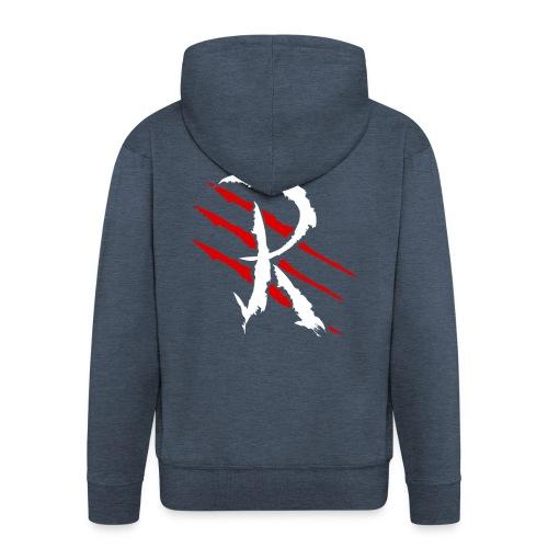 Raptayn Logo White - Männer Premium Kapuzenjacke