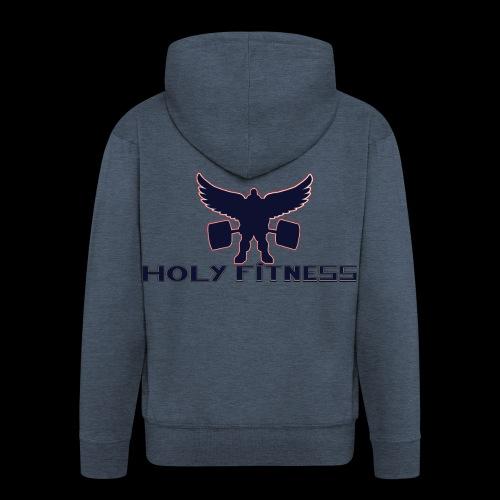 Logo 1 Holy fitness nouvelle génération - Veste à capuche Premium Homme
