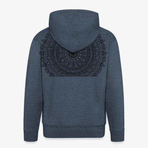 mandala3 - Men's Premium Hooded Jacket