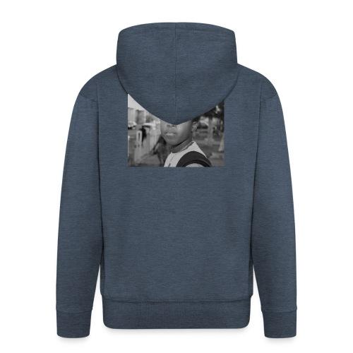Just your average nigga - Men's Premium Hooded Jacket