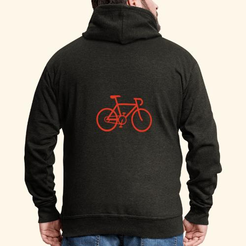 Rennrad, Race-Bike, Fahrrad - Männer Premium Kapuzenjacke