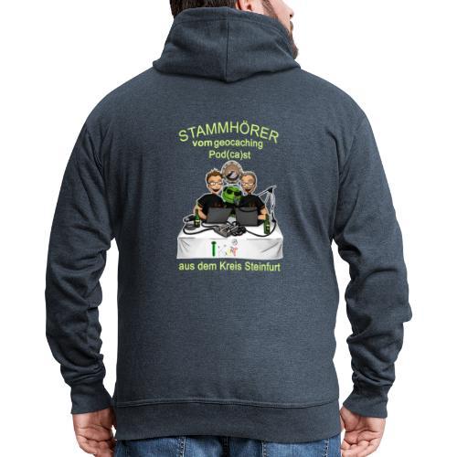 Stammhörer-Shirt - Männer Premium Kapuzenjacke