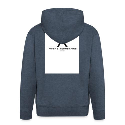 Invers Industries Full White - Men's Premium Hooded Jacket