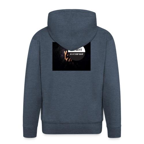 KeMoT odzież limitowana edycja - Rozpinana bluza męska z kapturem Premium