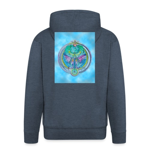 Mother Earth - Männer Premium Kapuzenjacke