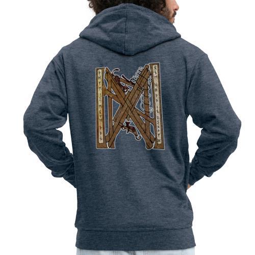 Hygge - Men's Premium Hooded Jacket