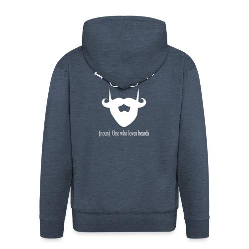 Pogonophile - Men's Premium Hooded Jacket