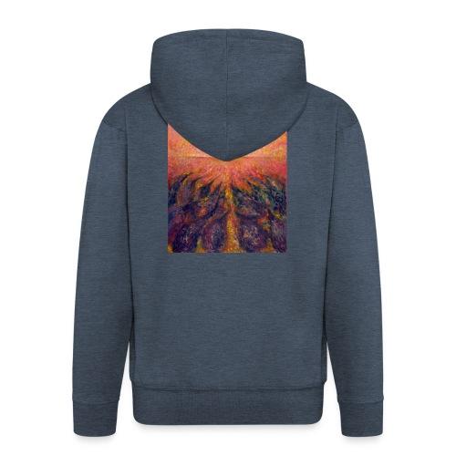 In Far Road - Rozpinana bluza męska z kapturem Premium