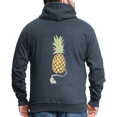 Pineapple demon - Men's Premium Hooded Jacket