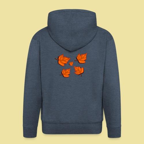 Herbstblätter - Männer Premium Kapuzenjacke