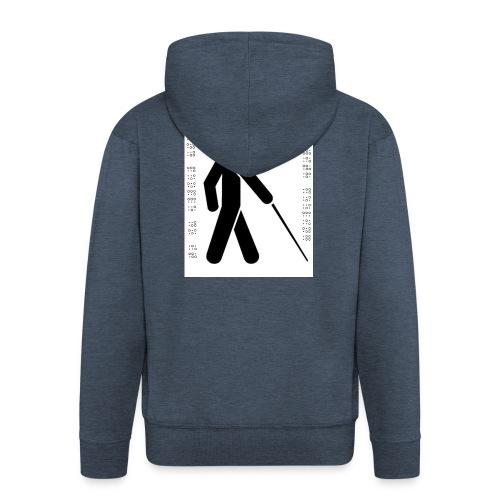 Blind T-Shirt - Men's Premium Hooded Jacket
