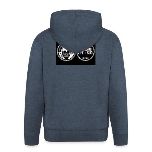 logo sls - Veste à capuche Premium Homme