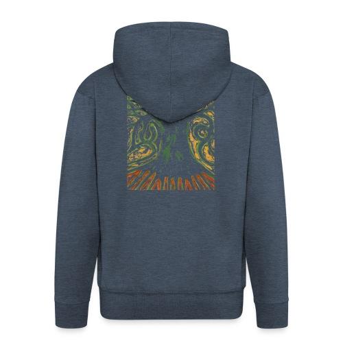 Primitive Tree - Rozpinana bluza męska z kapturem Premium