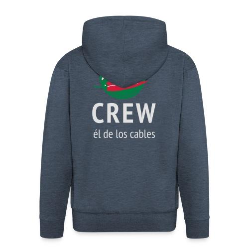 Pimiento Crew Gear - Mannenjack Premium met capuchon