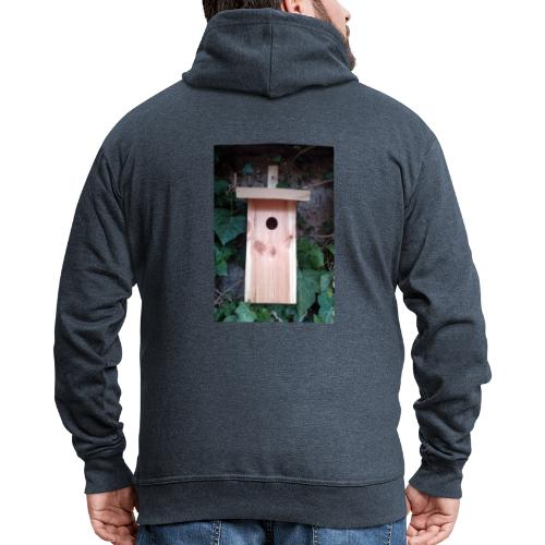 Der Nistkasten - Luxus für den Garten-Vogel - Männer Premium Kapuzenjacke