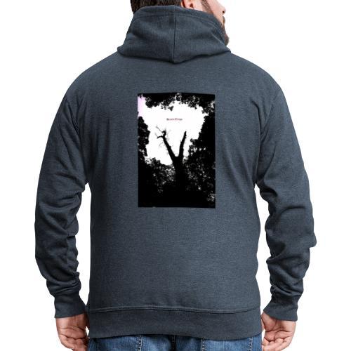 Scarry / Creepy - Men's Premium Hooded Jacket