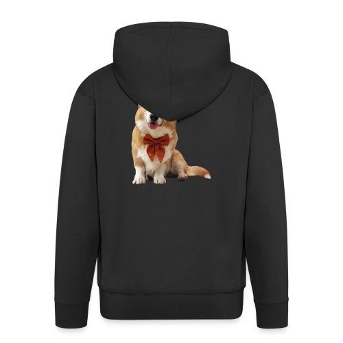 Bowtie Topi - Men's Premium Hooded Jacket