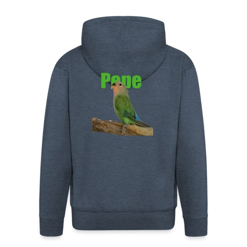 Pepe - Miesten premium vetoketjullinen huppari