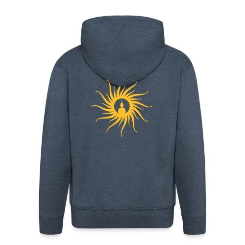 Buddha Sun - Männer Premium Kapuzenjacke