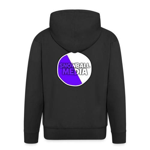 Snowball Media - Men's Premium Hooded Jacket