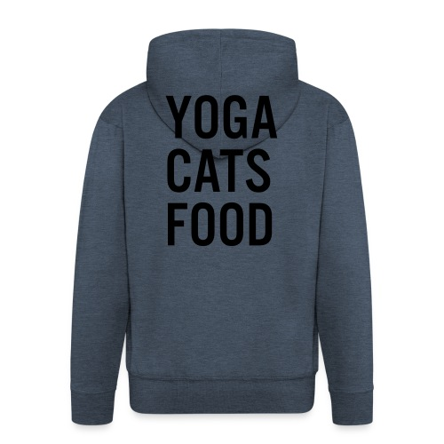 YOGA CATS FOOD LADIES ORGANIC T-SHIRT - Premium-Luvjacka herr