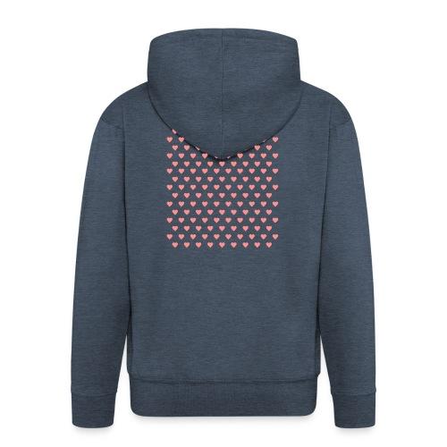 wwwww - Men's Premium Hooded Jacket