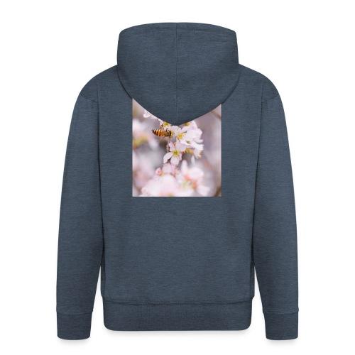 Schöne Biene 1 - Männer Premium Kapuzenjacke