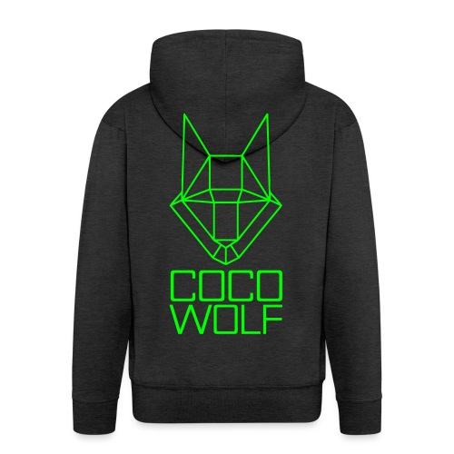 COCO WOLF - Männer Premium Kapuzenjacke