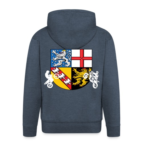 SaarRiderCrew FAN Hoodie - Männer Premium Kapuzenjacke