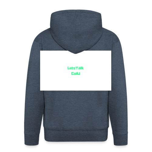 LetsTalk ColU - Men's Premium Hooded Jacket