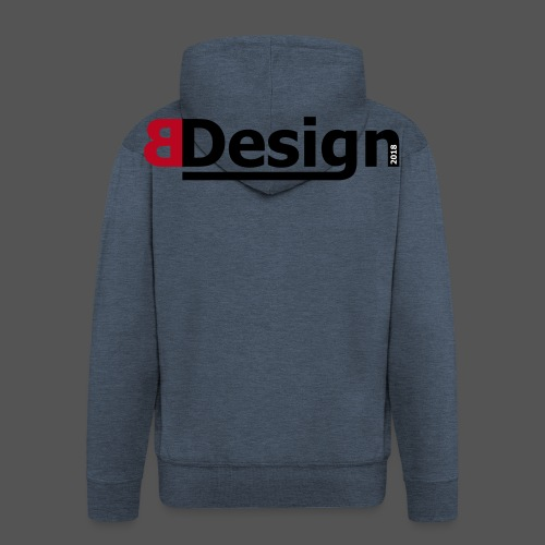 bdesign_logo - Männer Premium Kapuzenjacke