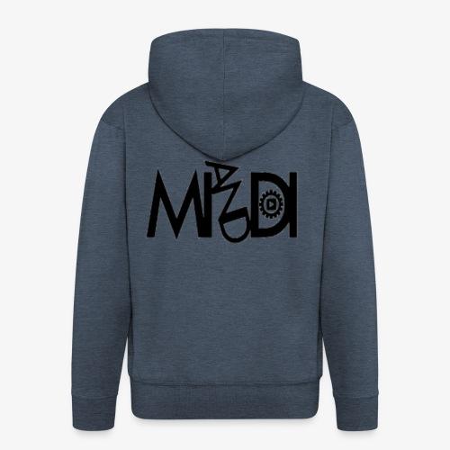MI AND DI Logo - Männer Premium Kapuzenjacke