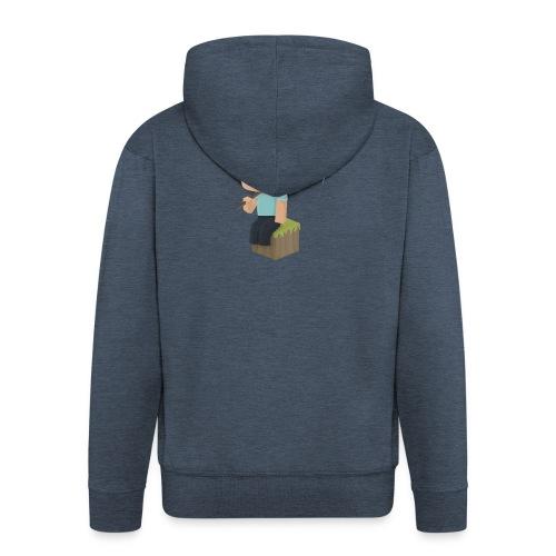 Collection Minecraft.fr - Veste à capuche Premium Homme
