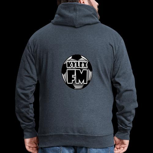 Kylex Ball Logo - Men's Premium Hooded Jacket