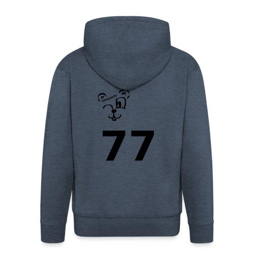 77 for the win - Männer Premium Kapuzenjacke