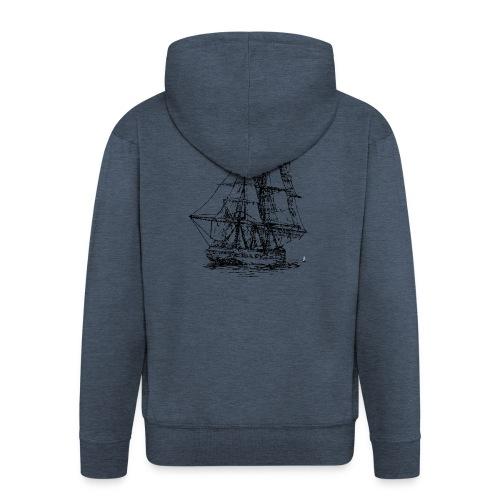 bridgeport set sails - Männer Premium Kapuzenjacke