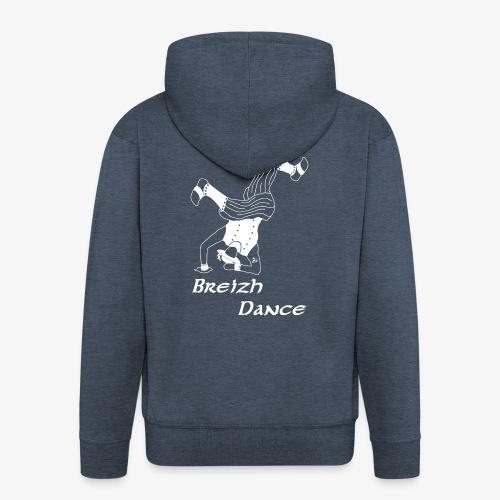 BZH Atypik Design - Breizh Dancer - Veste à capuche Premium Homme