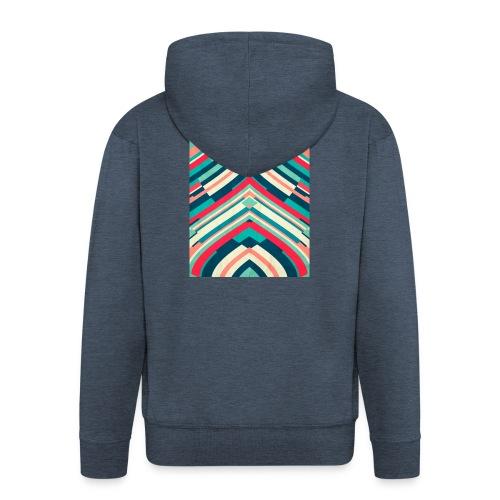 Fashion Lines - Chaqueta con capucha premium hombre